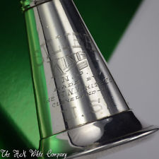 Vintage Silver King H. N. White Clarinet Sterling Silver Bell Remarkable