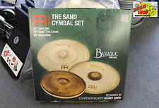 Meinl Byzance Benny Greb Vintage Sand Cymbal Pack - VIDEO DEMO!!