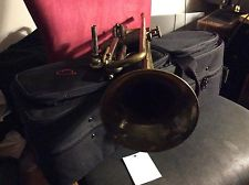 GREAT BUY! RAW BRASS HORN GREAT VINTAGE MARTIN COMMITTEE Bb JAZZ TRUMPET BACH MP