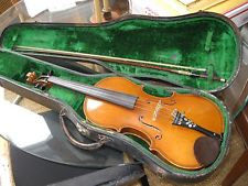 Vintage Antique Violin, Original Case and Bow, Made in Germany