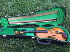 Antique 1904 Vintage George Reeves custom made violin w case and bow