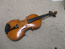 Heinel and Herold Vintage antique full size 44 with case and bow