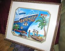Disney DCL Cruisin Through Time All Aboard 9 Pin Fab 5 Mickey Mouse Set