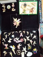 134 Tinkerbell Disney Pin collection,Rare, Retired, Mystery, Cast, Event,WDW amp;DL
