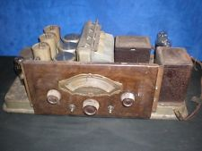 Vintage Antique ATWATER KENT TYPE L Radio Chassis Parts Repair TUBES Model 74