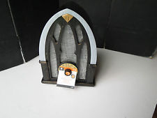 Antique Cathedral Style Animated Halloween Radio Prop New