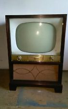 Antique Westinghouse Console Model H34KU21 mohagany TV television Stratovision