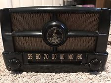 COOL EMERSON VINTAGE ANTIQUE TUBE RADIO Works Great