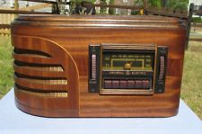 Antique General Electric vintage tube radio restored and working