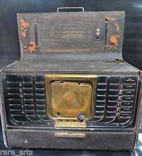 Antique Radio Zenith Model 8G005Y Transoceanic (1947)  Clipper Portable USA Made