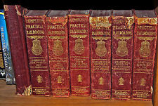 Complete Practical Railroading:  7 of 8 Volumes, 1911
