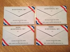 Vintage Bicentennial Collection of 4 Sets Railroad Picture Postcard Each 14 Card