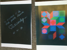 VICTOR VASARELY UNIQUE COLLECTION ***** VALUED $110,000