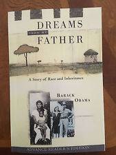 Dreams From My Father - Advance Readers Edition - Signed by President Obama