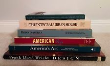 Collection of Eames Knoll Saarinen Cranbrook Mid Century Design and Art Books
