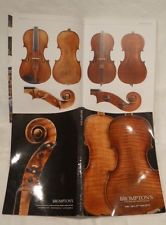 Private COLLECTION to SELL - 8: Interesting 57 AUCTIONS CATALOGUE - Violins