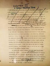Napoleon Hill 21 Hand Typed Signed Pages From Hills Personal Writings Lot#3