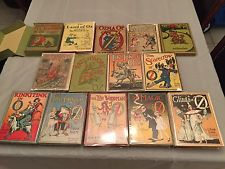 Rare Complete set of 1st editions Wizard of Oz books with 6 books in DJ ~ Baum