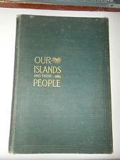 AntiqueVintage Book Our Island And Their People Volume 1 Joseph Wheeler 1899