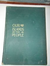 AntiqueVintage Book Our Island And Their People Volume II 2 Joseph Wheeler 1899