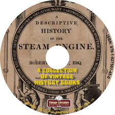 History of the Steam Engine Vintage Catalogs and Book Collection on DVD