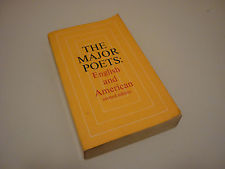 1960s Vintage Poetry Book - The Major Poets English and American