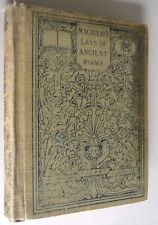 Lays of Ancient Rome and Other Poems 1913 Macaulay Vtg Antique Poetry Verse