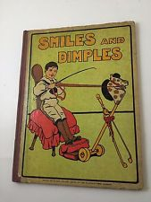 Smiles and Dimples Poems and Stories Vintage Picture Book Antique