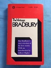 THE VINTAGE RAY BRADBURY - FIRST EDITION INSCRIBED BY RAY BRADBURY