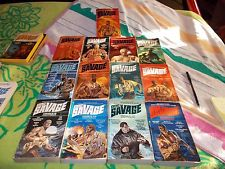 DOC SAVAGE~KENNETH ROBESON~VINTAGE 13 BOOK COLLECTION~COMPLETE  OMNIBUS SERIES