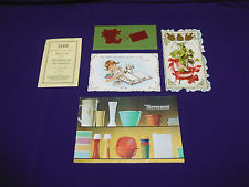 Lot of Five (5) Antique  Vintage Advertising Paper, Cards, Pamphlets and More