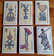 Napoleon Historical Tarot Cards By Menegazzi Limited Signed Edition 1983 Rare
