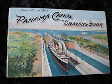 1914 Panama Canal Drawing Book Complements of Macklem Backing Company