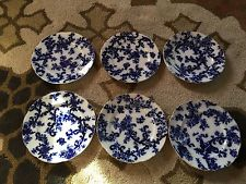 Vintage Flow Blue China - Corbeille Pattern - Well and Tree Meat Platter - 20x16