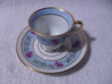 BEAUTIFUL!! VINTAGE Limoges France China Cup and Saucer HAND PAINTED