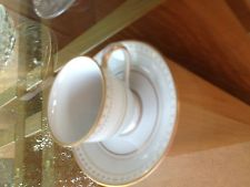 Noritake China Dinnerware Barrington Pattern #2030 - Cup and Saucer -