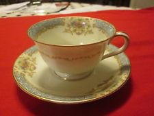 OCCUPIED JAPAN cup and saucer, tea cup, dinnerware,NORITAKE fine china tableware