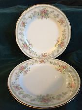TWO 2 BREAD AND BUTTER PLATES NORITAKE CONTEMPORARY FINE CHINA MEMORY 2882