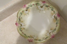 S38 antique rs prussia console salad vegetable bowl porcelain china red mark
