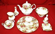50-Piece Collection Royal Albert Old Country Roses China, Svc 8 + Many More