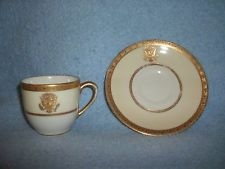 White House China -  Demitasse cup and saucer from 1918!