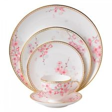 Wedgwood Spring Blossom 60Pc China Set, Service for 12
