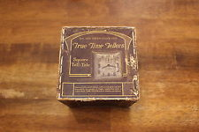 Vintage Antique Advertising Box New Haven Clock Co True Time Tellers BOX ONLY