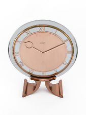 Rare OMEGA Table clock with 8 day movement, art deco, 1930s