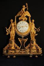 ANTIQUE FRENCH TABLE CLOCKPENDULUM BY MABILLES - FREE WORLWIDE SHIPPING