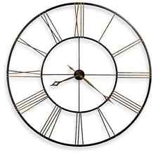 Luxury Wall Clock Double-sided Antique Style Hotel Hanging Decor VIP Gift